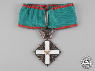 Italy, Republic. An Order of Merit of the Italian Republic, III Class Commander, c.1955