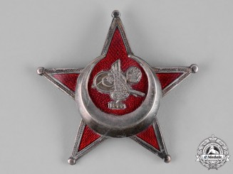 Turkey, Ottoman Empire. A War Medal,  Galipoli Star, by B.B. & Co.