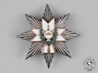 Croatia, Independent State. An Order of King Zvonimir's Crown, I Class with Oak Leaves Star, c.1942