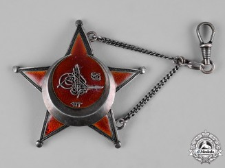 Turkey, Ottoman Empire. A War Medal, Galipoli Star in Silver