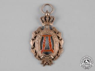 Serbia, Kingdom. A Queen Draga Medal, I Class Gold Grade