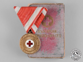 Bulgaria, Kingdom. A Red Cross Medal, II Class