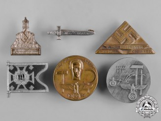 Germany, Third Reich. A Lot of Third Reich Period Badges