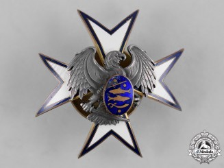 Estonia, Republic. A Kaitseliit Defence Force Badge, by Roman Tavast