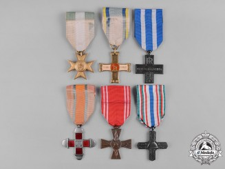 Italy, Kingdom, Republic. A Lot of Six Medals & Awards