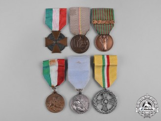 Italy, Republic. A Lot of Six Medals & Awards