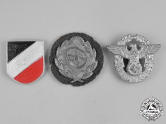 Germany, Third Reich. A Lot of Third Reich Era Badges