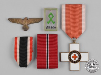 Germany, Third Reich. A Lot of Third Reich Era Medals & Insignia