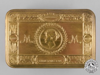 United Kingdom. A First World War Princess Mary Christmas Gift Box, c.1914