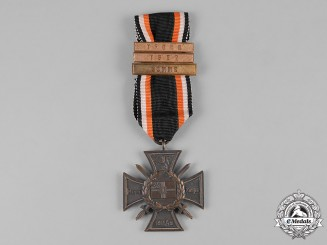 Germany, Weimar. A Naval Flanders Cross, with Battle Clasps