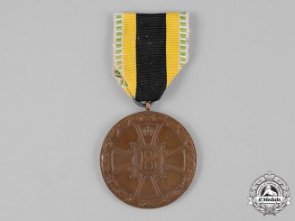 Saxe-Meiningen, Duchy. A Medal for Merit in War.1915