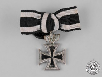 Germany, Imperial. An 1870 Iron Cross Miniature with 25-Year Clasp