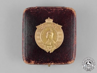 Germany, Imperial. An Honour Badge for Merit in the Fire Brigade by Max von Kawaczynski
