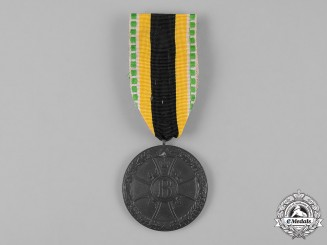 Saxe-Meiningen, Duchy. A War Merit Decoration, Zink Medal