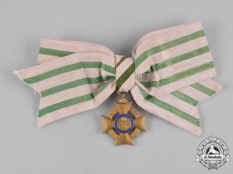 Saxony, Kingdom. An Honour Cross for Volunteer Nursing