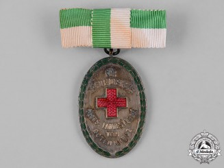 Germany, Weimar Republic. A Saxon Red Cross Honour Badge, III Class, by Glaser & Sohn