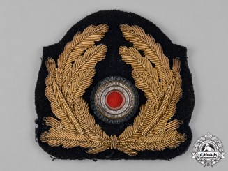 Germany, Kriegsmarine. An Officer's Cap Cockade