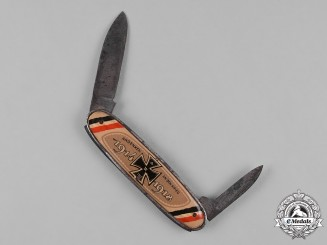 Germany, Imperial. A Souvenir of War Pocket Knife
