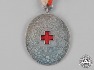 Thuringia, State. A Medal for Loyal Cooperation of the Red Cross