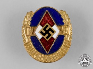 Germany, HJ. A 1942 HJ Honour Badge of the National Champions, Gold Grade