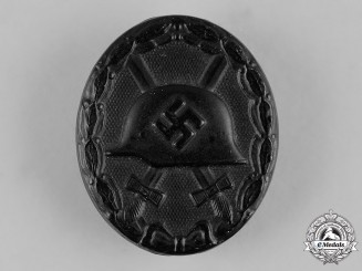 Germany, Wehrmacht. A Wound Badge in Black by Alois Rettenmeyer