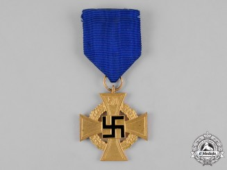 Germany, Third Reich. A Civil Service 50-Year Faithful Service Cross