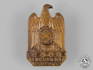 Germany, NSDAP. A 1933 Nuremberg Rally Badge