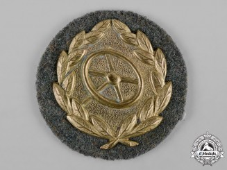 Germany, Wehrmacht. A Driver Proficiency Badge, Gold Grade