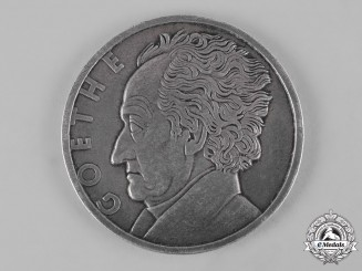Germany, Weimar Republic. A Goethe Medal for Art and Science to Gedeon Petz