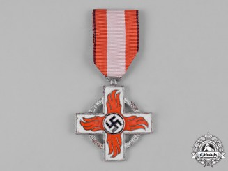 Germany, Third Reich. A Fire Brigade Service Cross, II Class, by Katz & Dehle