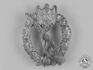 Germany, Wehrmacht. A Silver Grade Infantry Assault Badge, by Hymmen & Co.