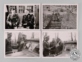 "Germany, Third Reich. A Lot of Private Photographs of SS-Oberst-Gruppenführer Josef ""Sepp"" Dietrich, by W. Fröhlich"