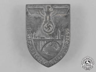 Germany, NSDAP. A 1942 Luxemburg NSDAP Regional Meeting Badge by Ziemer & Söhne