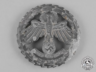 Germany, Third Reich. A 1942 Tirol Shooting Competition Badge by Carl Poellath