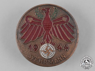 Germany, Third Reich. A 1944 Tirol Shooting Badge