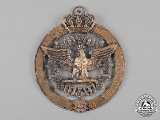 Prussia, Kingdom. A Gift to Carl Prince of Prussia from the Shooters Guild of Treuenbrietzen, c.1862