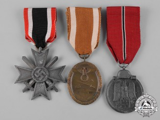 Germany, Wehrmacht. A Lot of Wehrmacht Medals