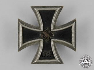 Germany, Wehrmacht. A 1939 Iron Cross I Class by C.F. Zimmermann