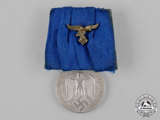 Germany, Luftwaffe. A Wehrmacht 4-Year Long Service Medal