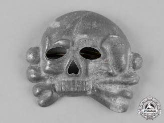 Germany, SS. A SS Skull Cap Insignia, First Pattern