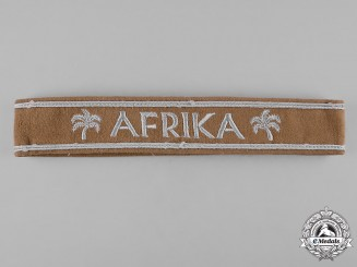 Germany, Heer. An Afrika Korps Cuff Title