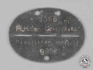 Germany, Luftwaffe. A Fliegerhorst-Kommandatur Crailsheim Identification Tag