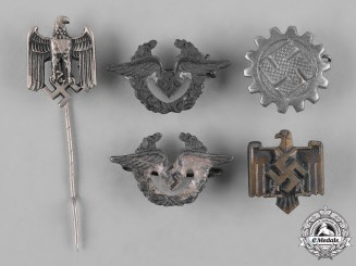 Germany, Third Reich. A Group of Third Reich period Membership Badges