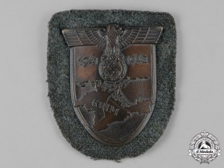 Germany, Heer. An Army-Issued Krim Shield