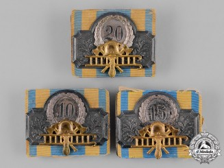Braunschweig, Dukedom. A Lot of Fire Brigade Long Service Medals