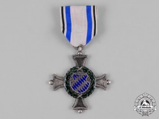 Bavaria, Kingdom. A Military Service Cross, I Class for 40 Years of Service