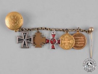 Germany, Imperial. A Prussian EK Miniature Medal Chain