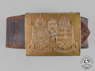 Austria, Imperial. An Austro-Hungarian EM/NCO's Belt and Buckle