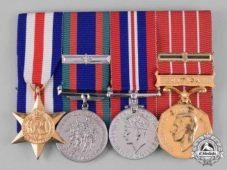 Canada. A Canadian Forces Decoration Group to Corporal D.W. Smith