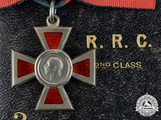 United Kingdom. A Royal Red Cross, II Class, by Garrard & Co.